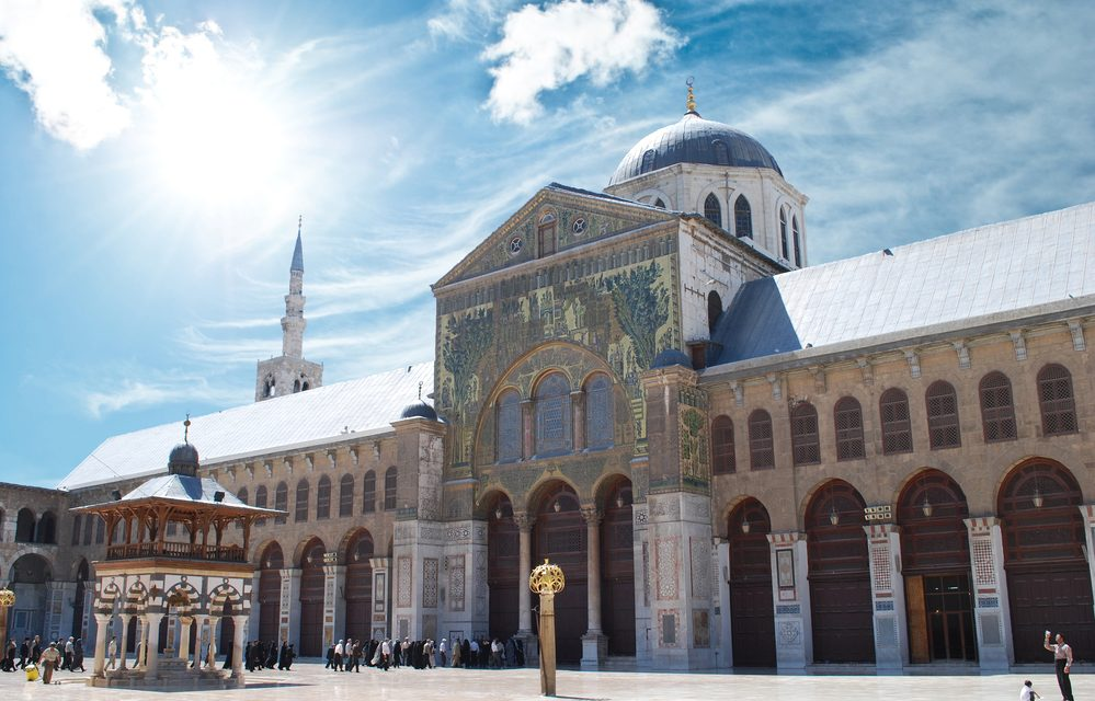 The Great Mosque of Damascus (The Umayyad Mosque)